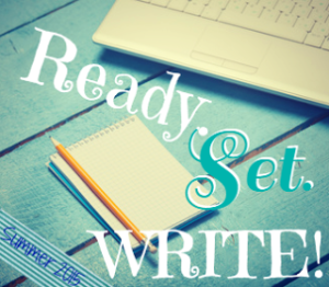 Ready. Set. Write! Summer 2015