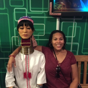 Quita & the Woman with the Long Neck (Ripley's)